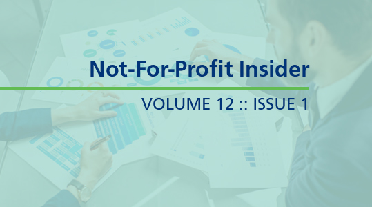 Not-For-Profit Insider 12.1