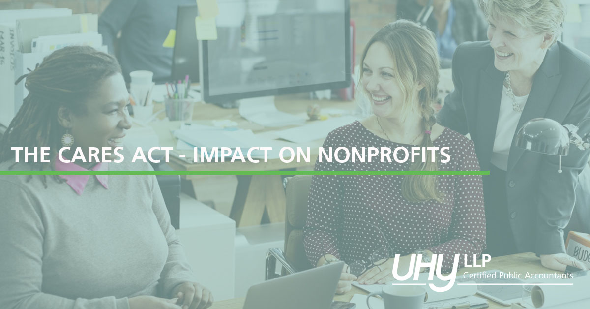 THE CARES ACT – IMPACT ON NONPROFITS