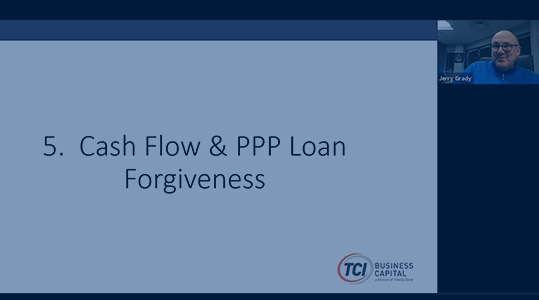CASH FLOW AND PPP LOAN FORGIVENESS FOR STAFFING COMPANIES