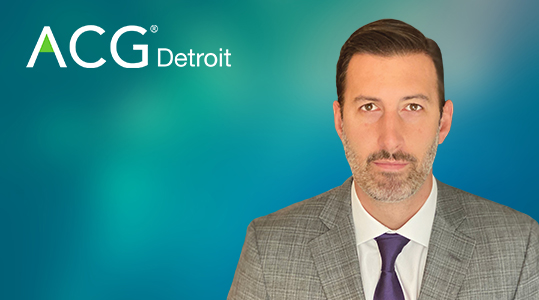 ALEX CONTI NAMED ALL STAR INVESTMENT BANKER OF THE YEAR BY ACG DETROIT
